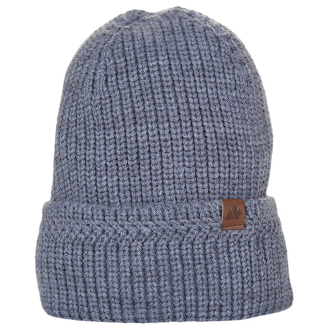 GREAT NORTHERN MEN'S BRAIDED BEANIE GREY