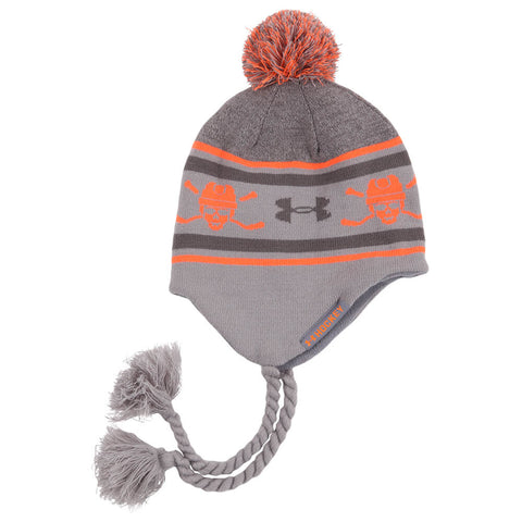 UNDER ARMOUR BOYS HOCKEY BEANIE GREY