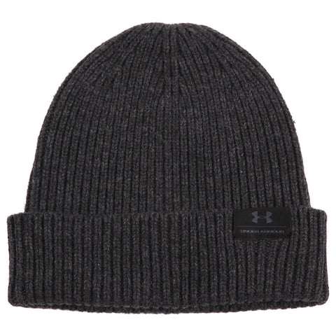UNDER ARMOUR MEN'S WOOL BEANIE BLACK