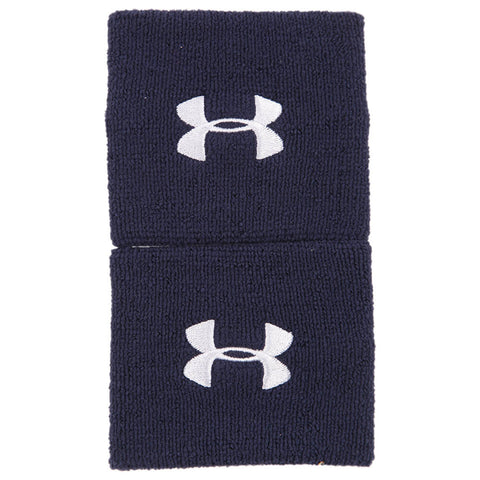 UNDER ARMOUR 3'' PERFORMANCE WRISTBAND NAVY