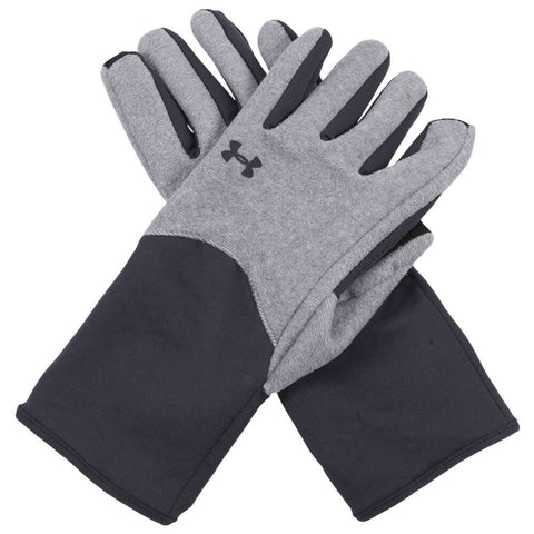 UNDER ARMOUR SURVIVOR FLEECE GLOVE GREY