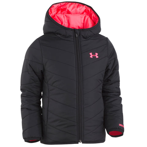 UNDER ARMOUR GIRLS PREMIER PUFFER BLACK