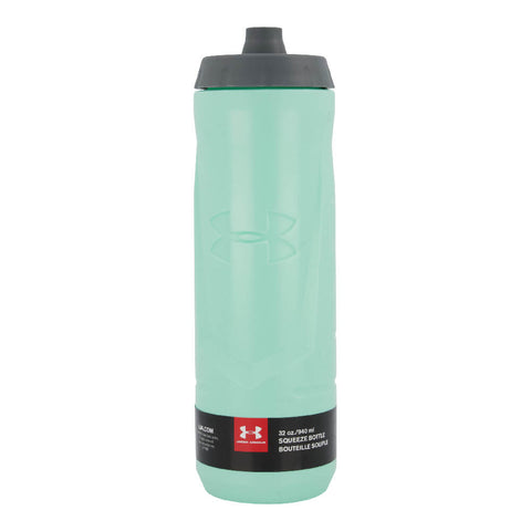UNDER ARMOUR SIDELINE 32OZ SQUEEZABLE BOTTLE CRYSTAL