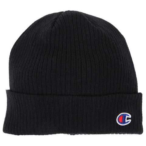 CHAMPION TRANSITION 2.0 CUFF BEANIE BLACK FLAT