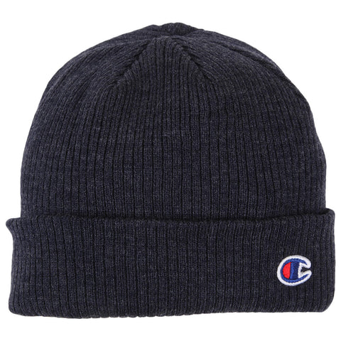 CHAMPION TRANSITION 2.0 CUFF BEANIE DARK BLUE FLAT