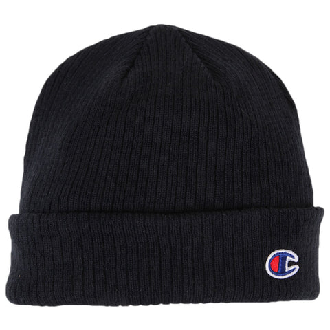 CHAMPION TRANSITION 2.0 CUFF BEANIE NAVY FLAT