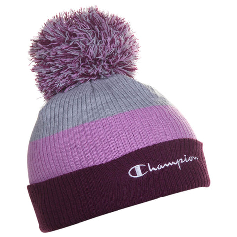 CHAMPION FASHION BLOCK BEANIE PURPLE