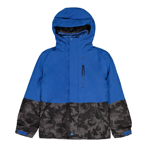 RIPZONE BOYS TAMALE 3 IN 1 JACKET BLUE/GREY