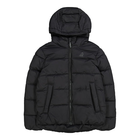 RIPZONE BOYS TURBO PUFFY JACKET BLACK