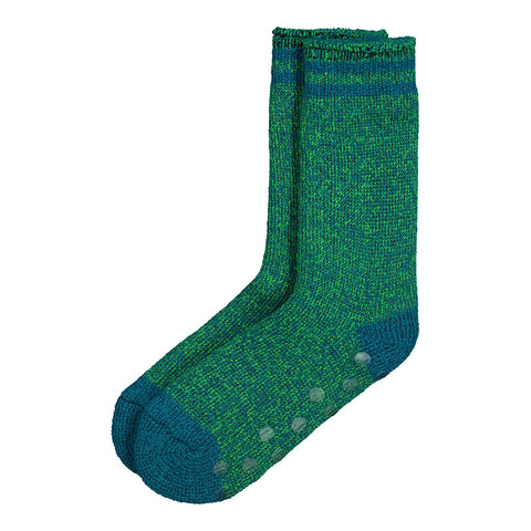 RIPZONE BOYS T-MAX HEAT SOCK W/GRIP LIGHT BLUE