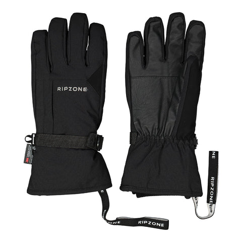 RIPZONE MEN'S NELSON INSULATED GLOVE BLACK