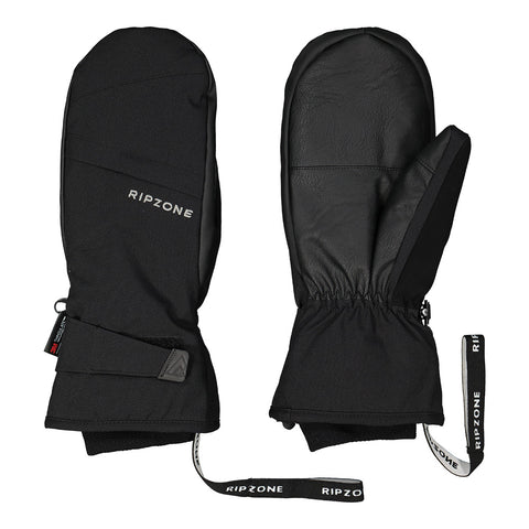 RIPZONE MEN'S STATON INSULATED MITTEN BLACK