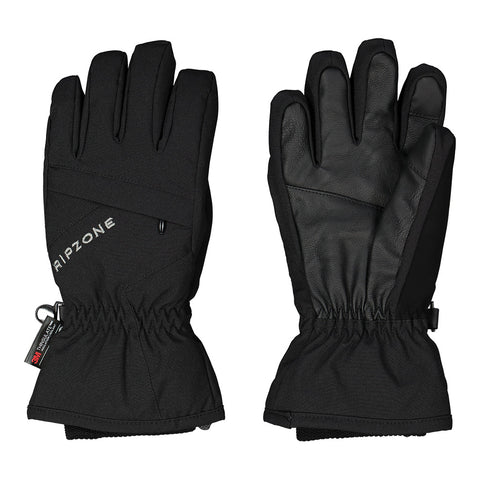 RIPZONE YOUTH ROWAN INSULATED GLOVE BLACK