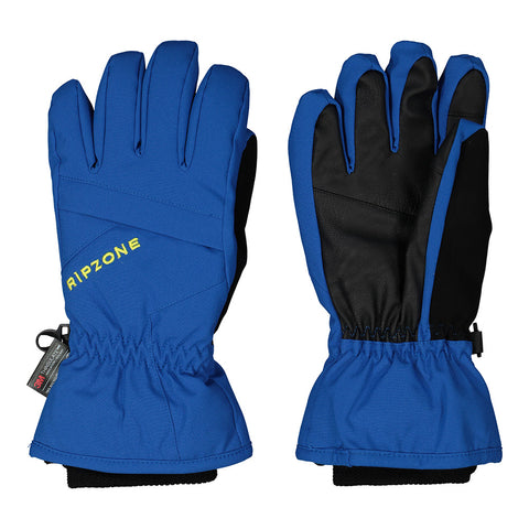 RIPZONE BOYS ROWAN INSULATED GLOVE CLASSIC BLUE