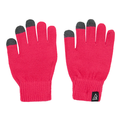 RIPZONE YOUTH LOGAN TOUCH TIP GLOVE RASPBERRY