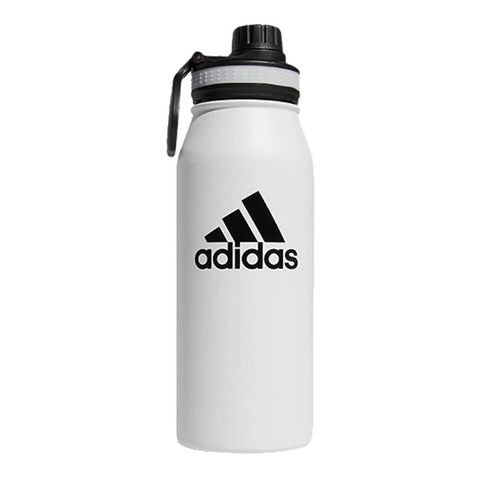 ADIDAS STEEL 1L METAL BOTTLE WHITE