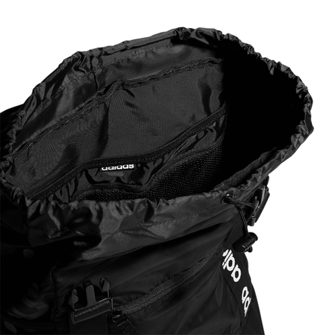 ADIDAS MIDVALE PLUS BACKPACK BLACK CLOSE UP