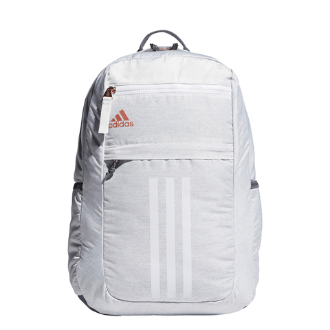 ADIDAS LEAGUE 3 STRIPE BACKPACK LIGHT GREY