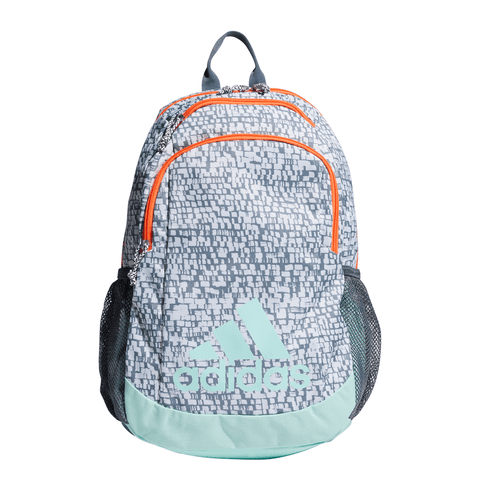 ADIDAS YOUNG BTS CREATOR BACKPACK GREY PRINT/TEAL