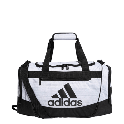 ADIDAS DEFENDER III SMALL DUFFEL WHITE
