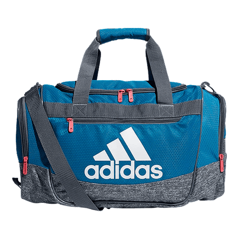 ADIDAS DEFENDER III SMALL DUFFEL TURQUOISE