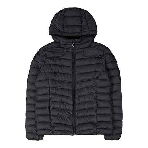 SPYDER GIRL'S PUFFER INSULATED JACKET BLACK