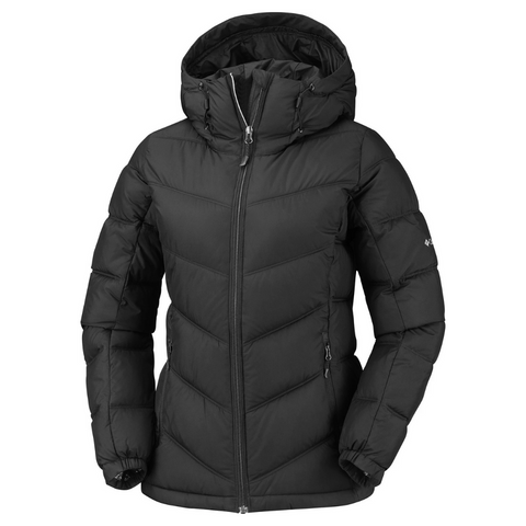 COLUMBIA WOMEN'S PIKE LAKE HOODED JACKET BLACK