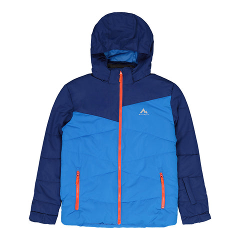 MCKINLEY BOYS EGON INSULATED JACKET ELECTRIC BLUE/TANGERINE