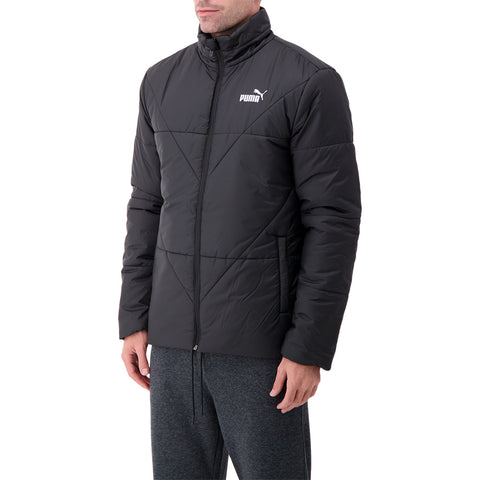 PUMA MEN'S ESSENTIALS PADDED JACKET BLACK