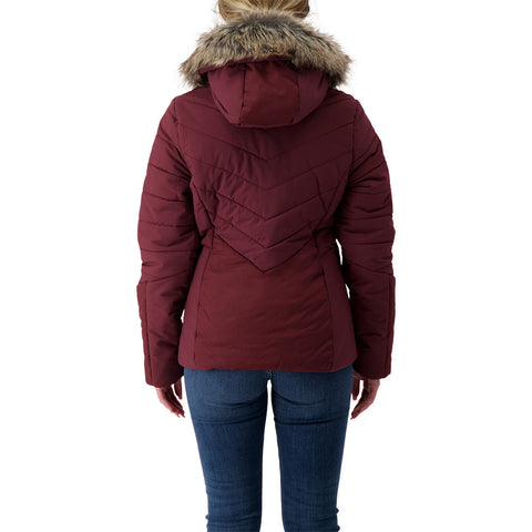 MCKINLEY WOMEN'S CHLOE II INSULATED PARKA FIG MELANGE