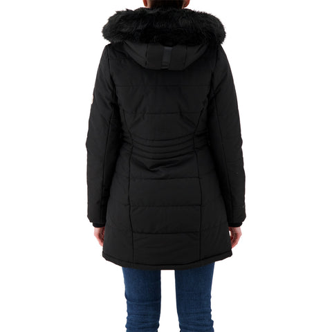 MCKINLEY WOMEN'S GRIFFIN INSULATED PARKA BLACK