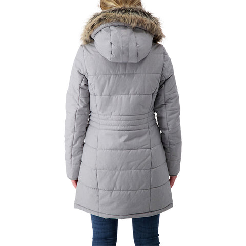 MCKINLEY WOMEN'S GRIFFIN INSULATED PARKA ALLOY MELANGE