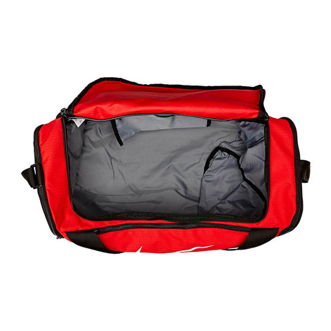 NIKE BRASILIA SMALL DUFFLE RED INSIDE