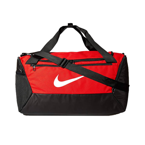 NIKE BRASILIA SMALL DUFFLE RED