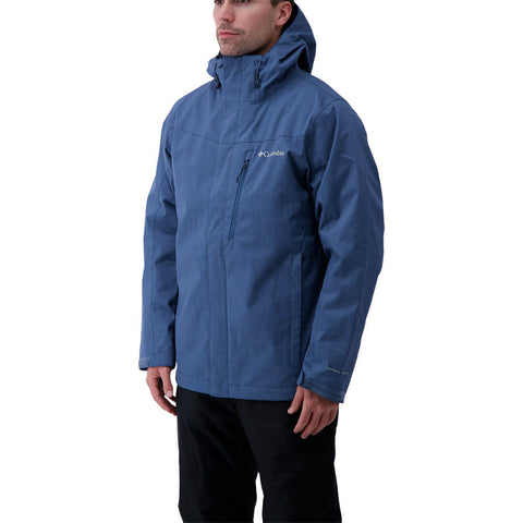 COLUMBIA MEN'S WHIRLIBIRD INTERCHANGE IV JACKET NIGHT TIDE MELANGE