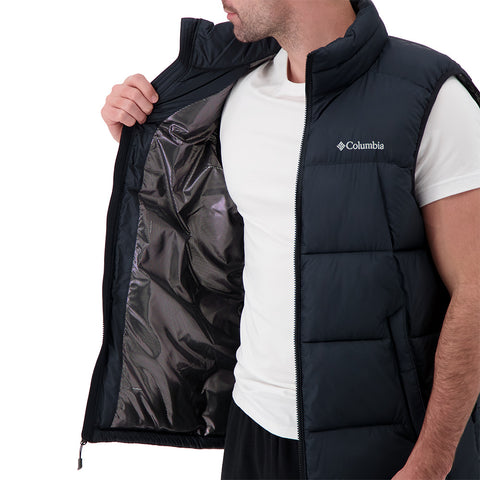COLUMBIA MEN'S PIKE LAKE VEST BLACK