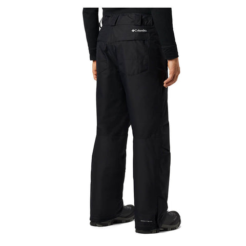 COLUMBIA MEN'S BUGABOO IV OMNI TECH PANT BLACK BACK