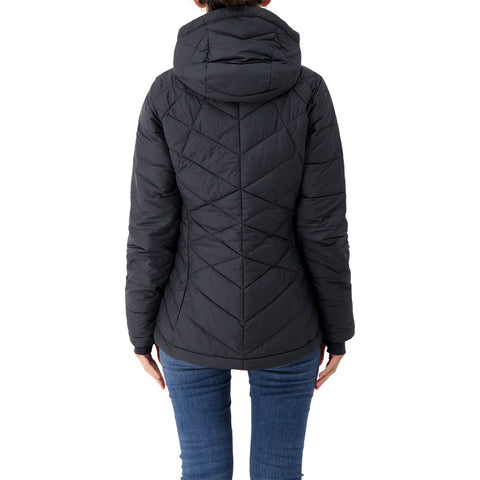 COLUMBIA WOMEN'S HEAVENLY HOODED JACKET BLACK