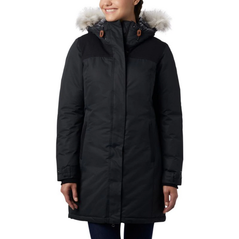 COLUMBIA WOMEN'S LINDORES OMNI TECH JACKET BLACK