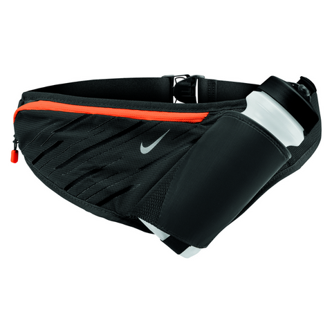 NIKE LARGE BOTTLE BELT 22OZ ANTHRACITE/BLACK/SILVER