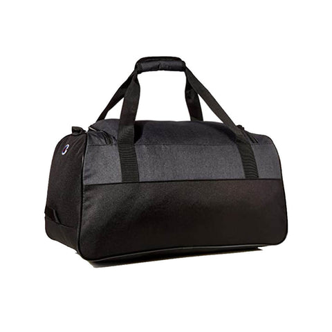CHAMPION UTILITY DUFFEL GREY/BLACK BACK PANEL