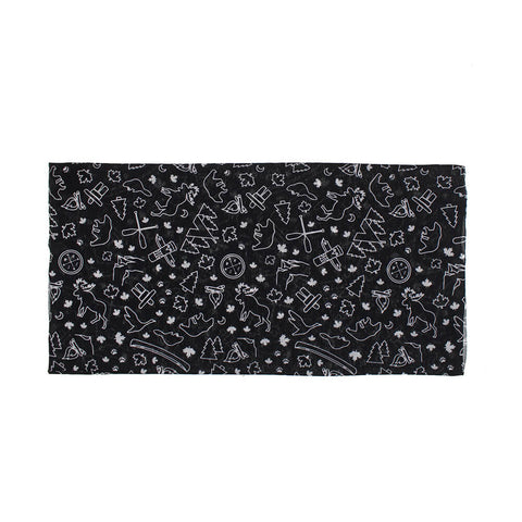 GREAT NORTHERN CANADA BANDANA (NON-MEDICAL) BUFF BLACK