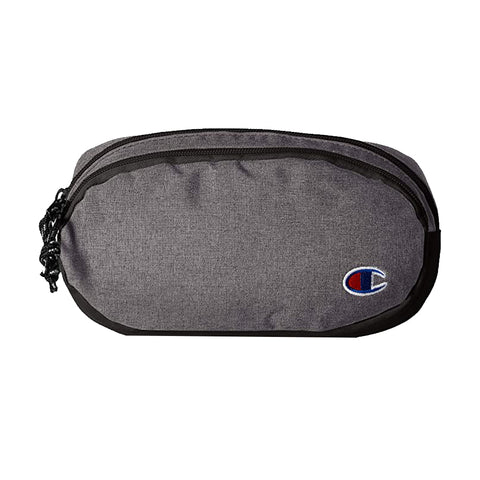 CHAMPION FOREVER CHAMP SIGNAL FANNY PACK GREY/BLACK