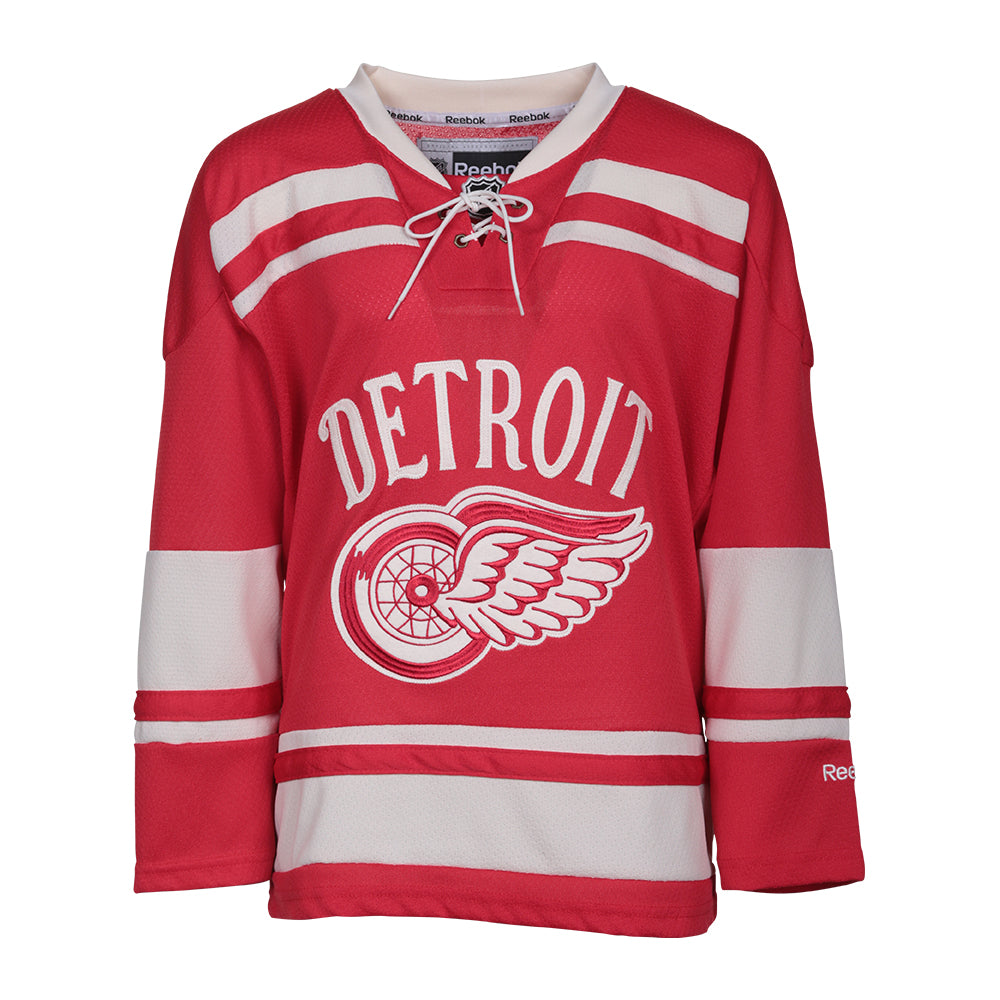 REEBOK YOUTH DETROIT RED WINGS WINTER CLASSIC JERSEY – National Sports a37ad834edf