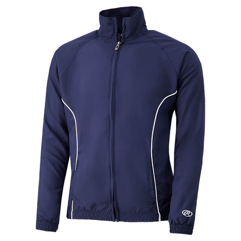 RAWLINGS MEN'S MICRO FLEECE JACKET NAVY