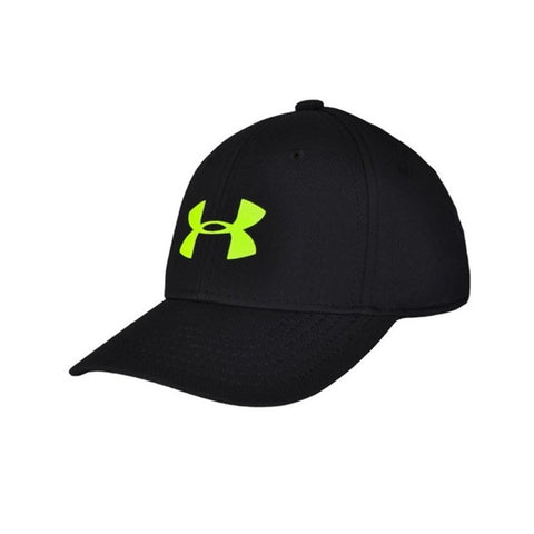 UNDER ARMOUR BOY'S HEADLINE STRETCH CAP BLACK