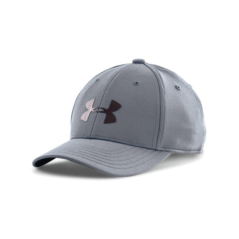 UNDER ARMOUR YOUTH HEADLINE STRETCH CAP SML/MED STEEL