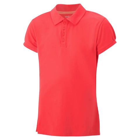 COLUMBIA WOMEN'S SPLENDID SUMMER POLO RED