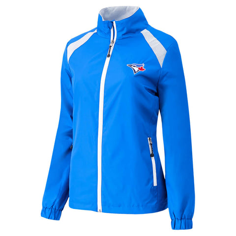 GIII 4HER WOMEN'S TORONTO BLUE JAYS RALLY JACKET