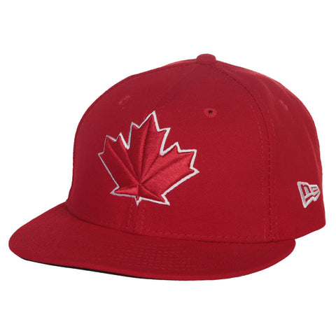 NEW ERA MEN'S TORONTO BLUE JAYS DIAMOND ERA ALTERNATE CAP RED